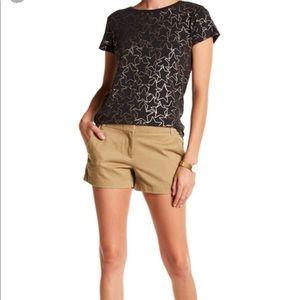 "✨ J. Crew Tan Camel 3"" Chino Short Shorts"